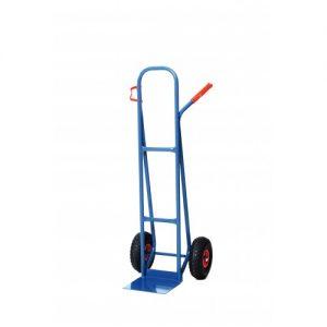 Krattensteekwagen 250kg luchtband wielen
