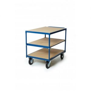 Tafelwagen, 3 niveaus 500kg Platform 1200 x 800 mm